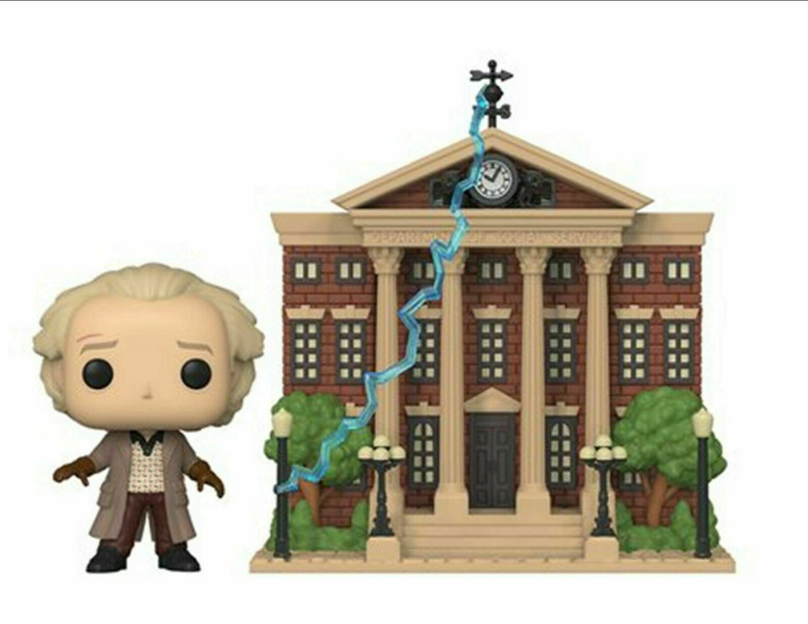 POP! Town: Back To The Future - Doc With Clock Tower #15