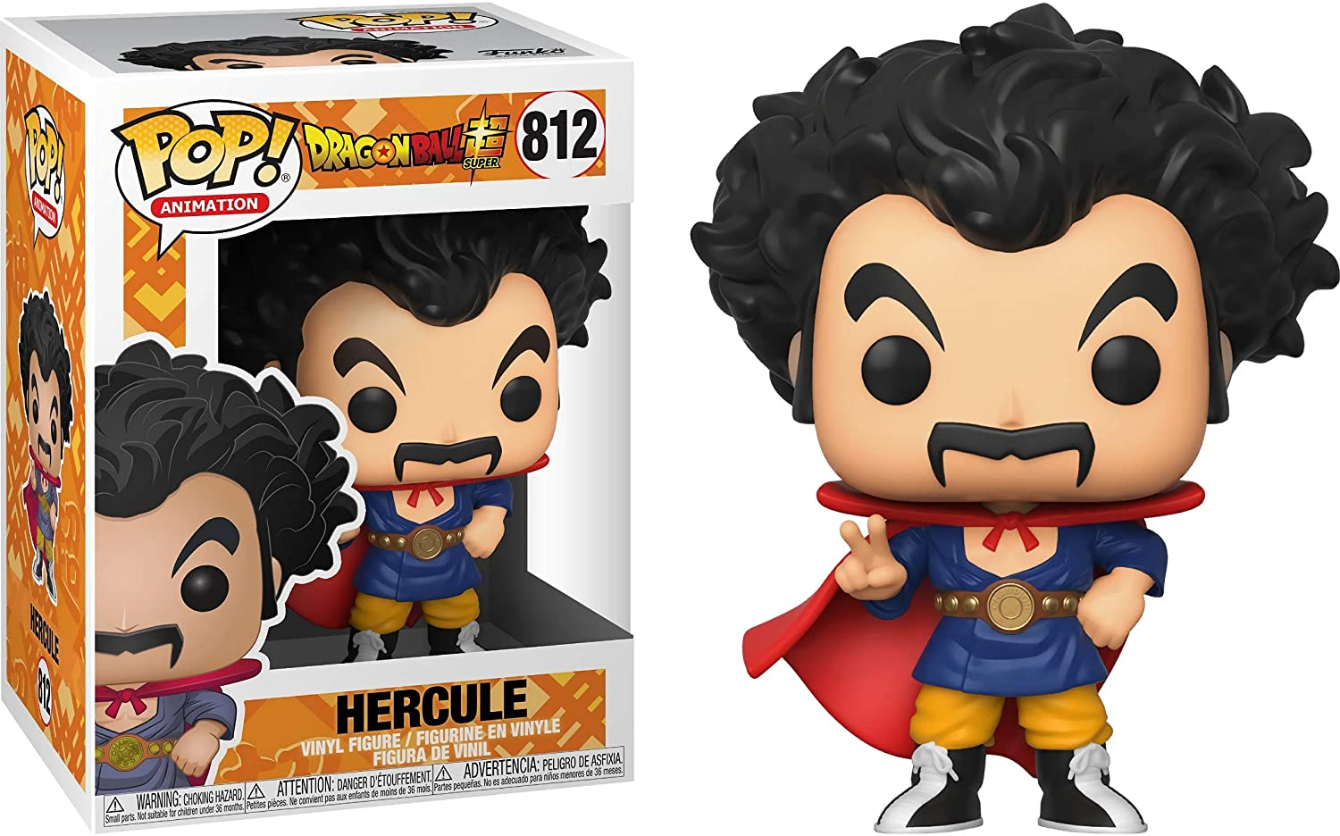 POP! Animation: Dragon Ball Super - Hercule #812 Vinyl Figure