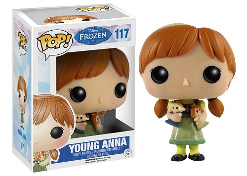 POP! Disney: Frozen - Young Anna Vinyl Figure #117