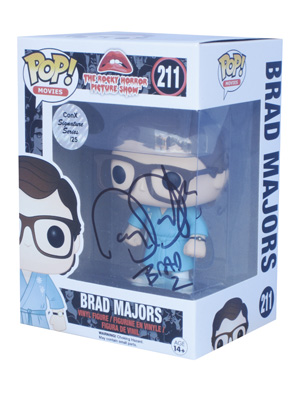 POP! Signature Series: The Rocky Horror Picture Show - Brad Majors Vinyl Figure #211 [Signed by Barry Bostwick]