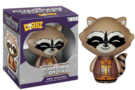 Dorbz Heroes Marvel: Guardians of the Galaxy - Rocket Raccoon Vinyl Figure #15