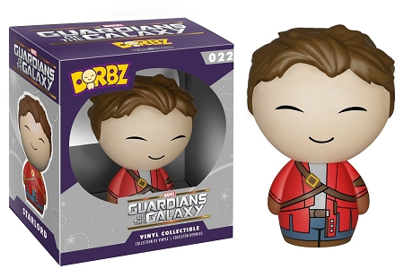 Dorbz Heroes Marvel: Guardians of the Galaxy - Unmasked Star-Lord Vinyl Figure #22