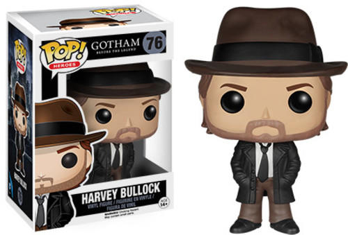 POP! DC Comics: Gotham - Harvey Bullock Vinyl Figure #76
