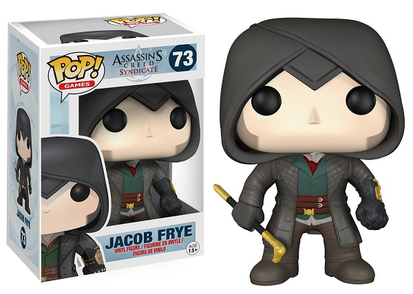 POP! Games: Assassin's Creed Syndicate - Jacob Frye Vinyl Figure #73 [VAULTED]