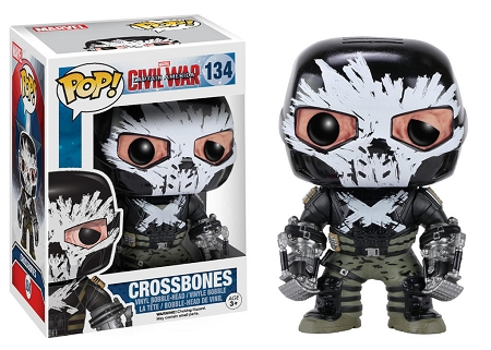 POP! Marvel: Captain America 3: Civil War - Crossbones Vinyl Bobblehead Figure #134