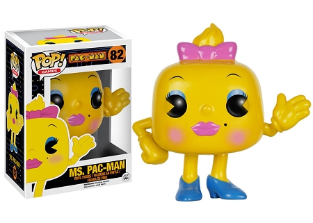 POP! Games: Pac-Man - Ms. Pac-Man [VAULTED] Vinyl Figure #82