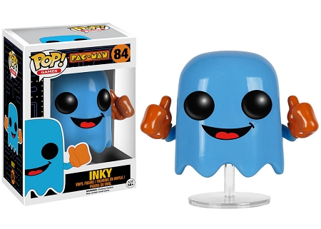 POP! Games: Pac-Man - Inky [VAULTED] Vinyl Figure #84