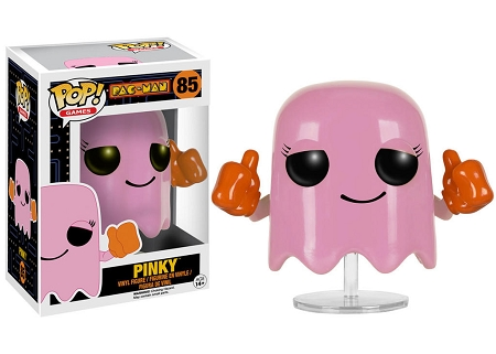 POP! Games: Pac-Man - Pinky [VAULTED] Vinyl Figure #85