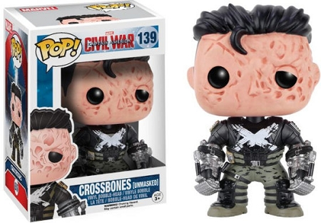 POP! Marvel: Captain America 3: Civil War - Crossbones [Unmasked] Vinyl Bobblehead Figure #139 (Barnes and Noble Exclusive)