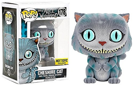 POP! Disney: Alice in Wonderland 2010 - Cheshire Cat Flocked Vinyl Figure (Hot Topic Exclusive)