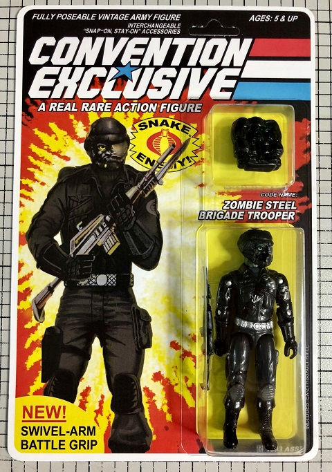 NYCC 2018 G.I. Joe Convention Exclusive: Code Name: Zombie Steel Brigade Trooper [Ships October 15th]