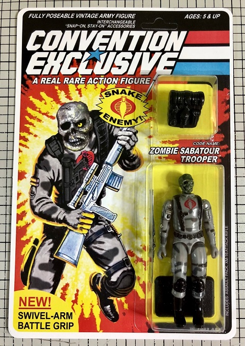 NYCC 2018 G.I. Joe Convention Exclusive: Code Name: Zombie Sabatour Trooper