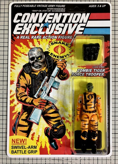 NYCC 2018 G.I. Joe Convention Exclusive: Code Name: Zombie Tiger Force Trooper