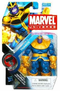Marvel Universe: Series 2 - Thanos Action Figure #34