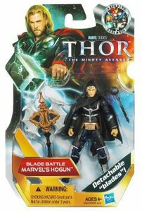 Marvel Movie Series: Thor: The Mighty Avenger - Blade Battle Marvel's Hogun Action Figure