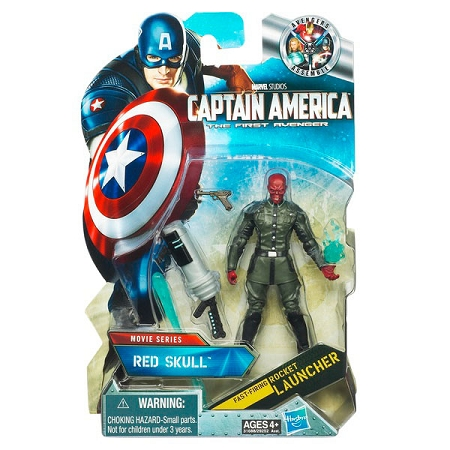 Marvel Movie Series: Captain America: The First Avenger - Red Skull Action Figure