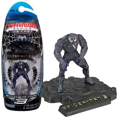 Marvel Titanium Series: Spider-Man 3 - Venom Die Cast Figure