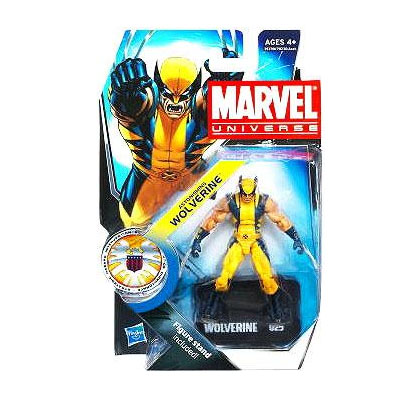 Marvel Universe: Series 3 - Astonishing Wolverine 3.75