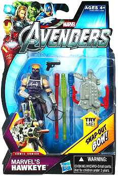 Marvel Comic Series: The Avengers - Hawkeye Figure #5