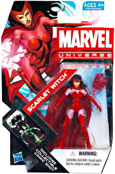 Marvel Universe: Series 4 - Scarlet Witch 3.75