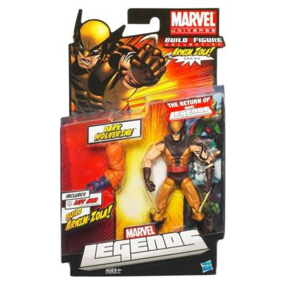 Marvel Legends: Dark Wolverine Action Figure (Build A Figure Series: Arnim Zola)