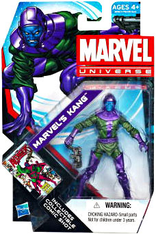 Marvel Universe: Series 4 - Marvel's Kang Action Figure #15