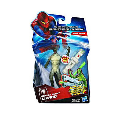 Marvel Movie Series: The Amazing Spider-Man - Reptile Blast Lizard Action Figure