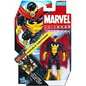 Marvel Universe: Series 4 - Marvel's Nighthawk 3.75