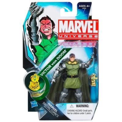 Marvel Universe: Victor Von Doom Unmasked Action Figure #27 (NYCC 2011 Exclusive)