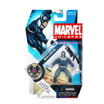 Marvel Universe: Series 1 - Bullseye Action Figure #10