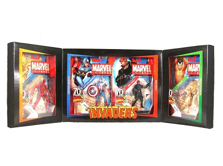 Marvel Universe: 70 Years of Marvel - The Invaders Action Figure Set (SDCC 2009 Exclusive)