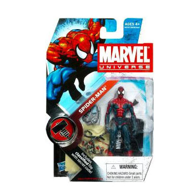 Marvel Universe: Series 2 - Spider-Man Action Figure #1 (House of M)