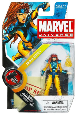 Marvel Universe: Series 2 - Jean Grey 3.75