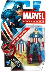 Marvel Universe: Series 2 - Captain America Figure #8