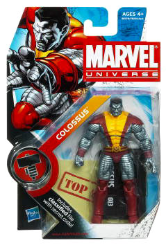 Marvel Universe: Series 2 - Colossus 3.75 Action Figure #13