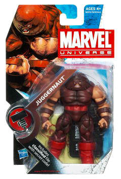 Marvel Universe: Series 2 - Juggernaut 3.75 Action Figure #14