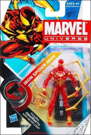 Marvel Universe: Series 2 - Iron Spider-Man 3.75