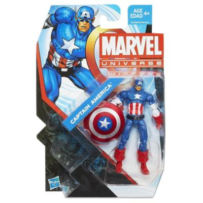 Marvel Universe: Series 5 - Captain America Action Figure #4