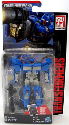 Transformers Generations: Combiner Wars - Legends Class Autobot Pipes Action Figure