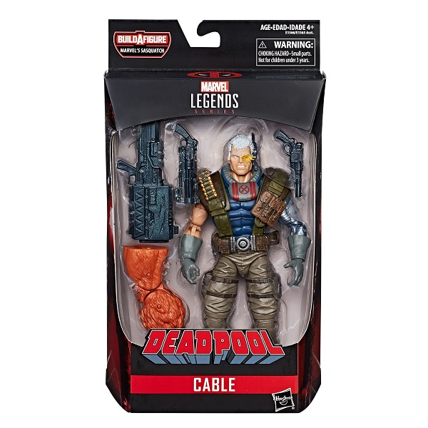 Marvel Legends: Deadpool Series - Cable 6