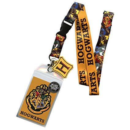 Harry Potter: Hogwarts Houses Lanyard