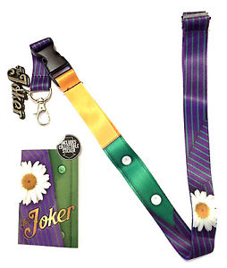 DC Comics: The Joker Suit-Up Lanyard