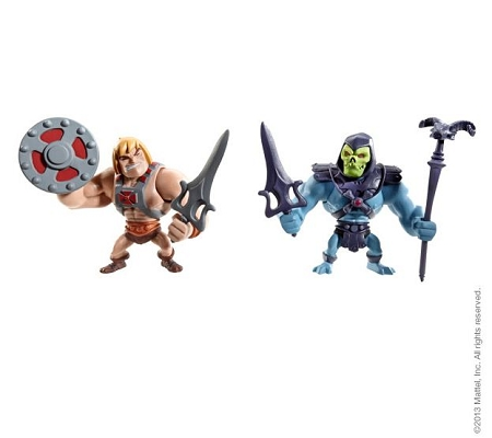 Mattel Masters of the Universe Classics: Mini He-Man & Skeletor (SDCC 2013 Exclusive)