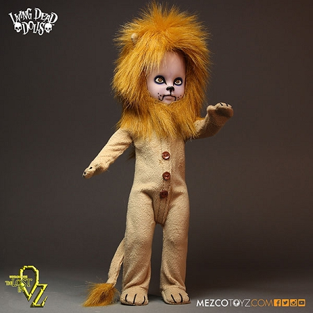 Living Dead Dolls: Teddy as the Lion 10