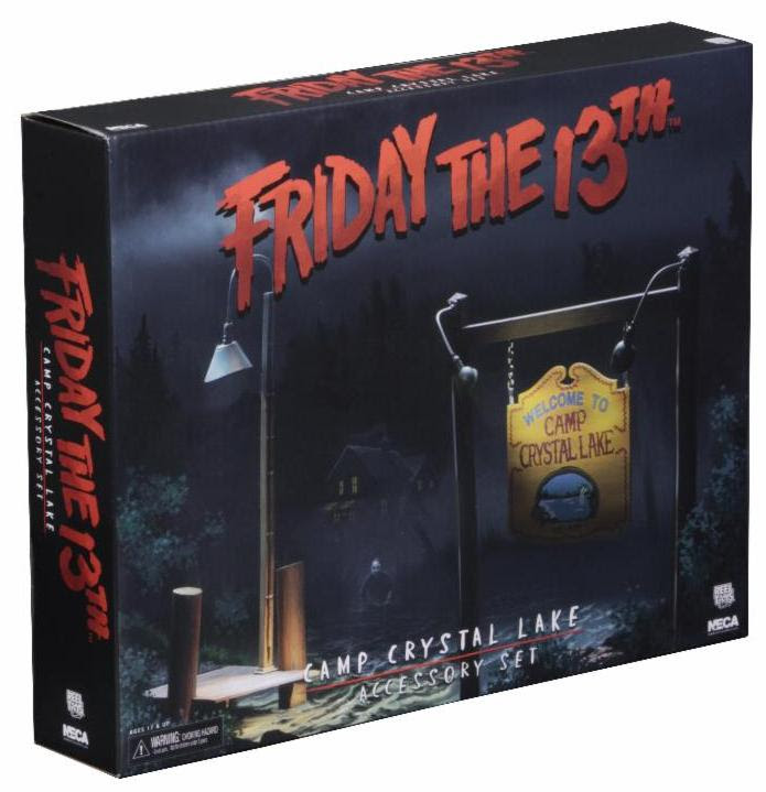 NECA Friday the 13th: Accessory Pack - Camp Crystal Lake Set