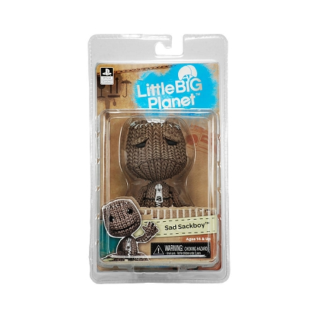 NECA Little Big Planet: Sad Sackboy 5