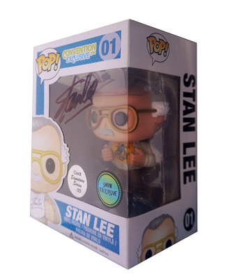 POP! Signature Series: Stan Lee Comikaze Vinyl Figure #1 [Signed by Stan Lee]