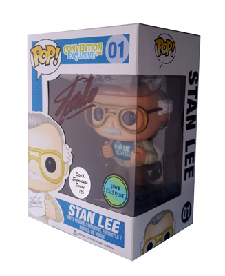 POP! Signature Series: Stan Lee True Believers Vinyl Figure #1 [Signed by Stan Lee]
