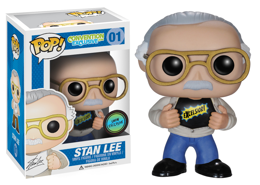 POP! Stan Lee: Excelsior Vinyl Figure (Our Exclusive)