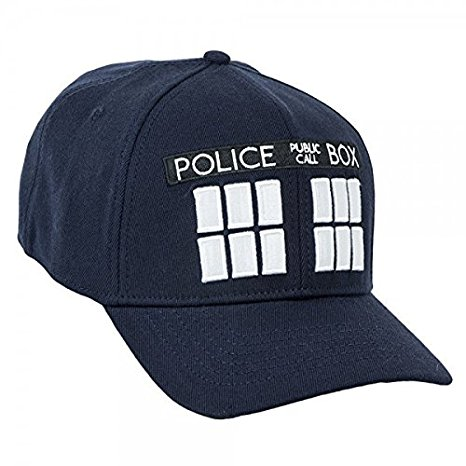 Doctor Who Tardis Navy Flex Cap